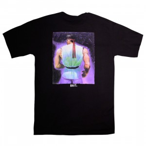 BAIT x Street Fighter Men Ryu Portrait Tee (black)