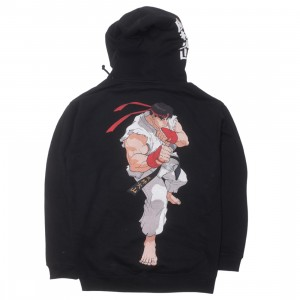BAIT x Street Fighter Ryu Men Fight Stance Hoody (black)
