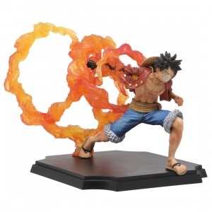 Bandai Ichiban Kuji Professionals One Piece Monkey D. Luffy Figure (red)