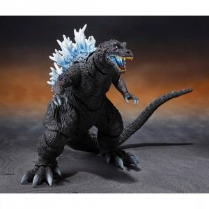 PREORDER - Bandai S.H. MonsterArts Godzilla Mothra And King Ghidorah Giant Monsters All-Out Attack Godzilla 2001 Heat Ray Ver. Figure (gray)