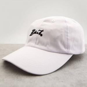 BAIT Script Logo Dad Cap (white)