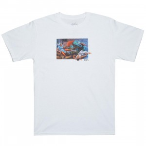 BAIT x Street Fighter Men The World Warrior Tee (white)