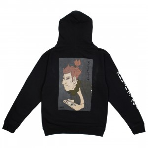 BAIT x Street Fighter x Kidokyo Men Akuma Hoody (black)
