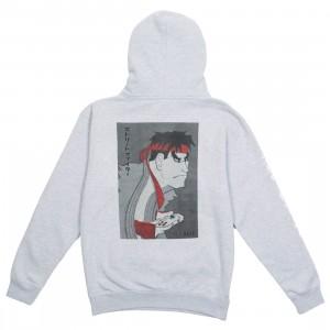 BAIT x Street Fighter x Kidokyo Men Ryu Hoody (gray / heather)