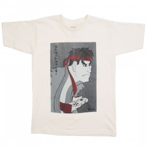 BAIT x Street Fighter x Kidokyo Men Ryu Tee (white / oatmeal)