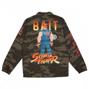 BAIT x Street Fighter Men Akuma Stance Jacket (camo)