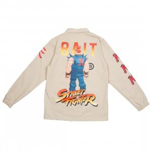 BAIT x Street Fighter Men Akuma Stance Jacket (sand)