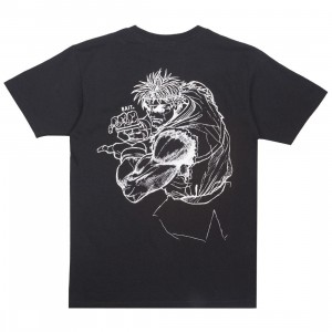 BAIT x Street Fighter Men Ryu Sketch Tee (black)