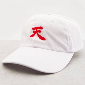 BAIT x Street Fighter Tien Dad Cap (white)