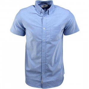 BAIT Oxford Short Sleeve Shirt (blue)