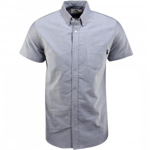 BAIT Oxford Short Sleeve Shirt (gray)