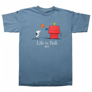 BAIT x Snoopy Men Life Ball Tee (blue / carolina)