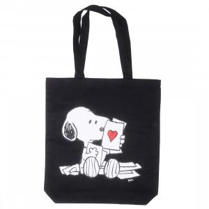 BAIT x Snoopy Lots Of Love Tote Bag (black)