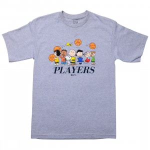 BAIT x Snoopy Men Players Tee (gray / ash)