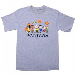 BAIT x Snoopy Men Players Tee (gray / ash)