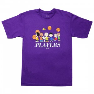BAIT x Snoopy Men Players Tee (purple)