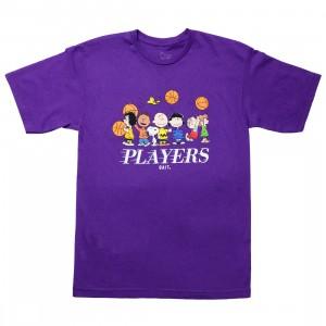 BAIT x Snoopy Men Players Tee (purple)