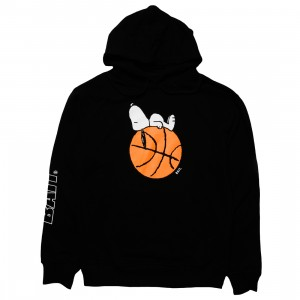 BAIT x Snoopy Men Snoopy Sleeper Baller Hoody (black)