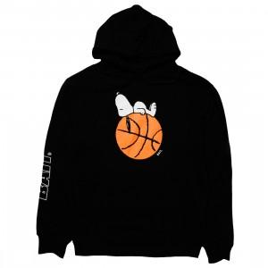 BAIT x Snoopy Men Snoopy Sleeper Baller Hoody (black)