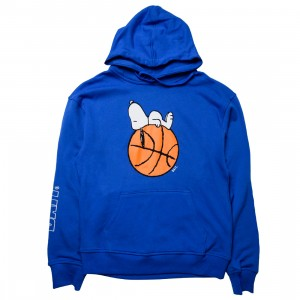 BAIT x Snoopy Men Snoopy Sleeper Baller Hoody (blue)