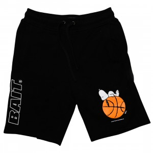 BAIT x Snoopy Men Snoopy Sleeper Baller Shorts (black)
