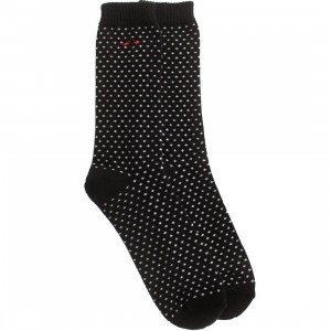 BAIT Premium Nippon Blues Plus Signs Crew Socks (black) 1S