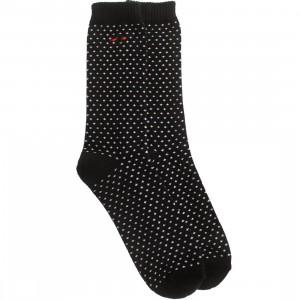 BAIT Premium Nippon Blues Plus Signs Crew Socks (black) 1S