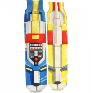BAIT x Voltron Blue And Yellow Lion Socks (blue / yellow) 1S