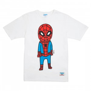 BAIT x Spiderman x Champion Men Spiderman Doodle Tee (white)