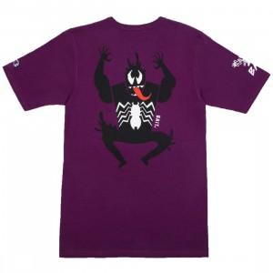 BAIT x Spiderman x Champion Men Spiderman Villains Tee (purple)