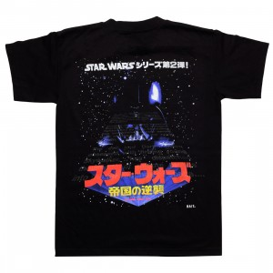 BAIT x Star Wars Men Empire Strikes Back Japanese Tee - Glow In The Dark (black)
