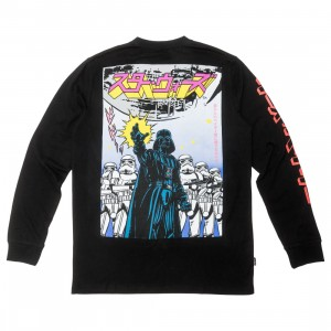 BAIT x Star Wars Manga Men Darth Vader Long Sleeve Tee (black)