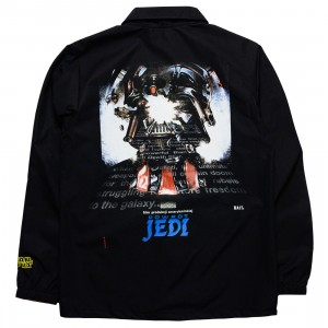 BAIT x Star Wars Men Powrot Jedi Polish Coaches Jacket - Glow In The Dark (black)
