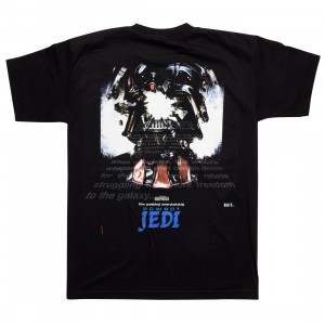 BAIT x Star Wars Men Powrot Jedi Polish Tee - Glow In The Dark (black)