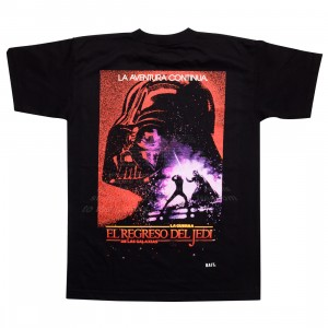 BAIT x Star Wars Men Return Of The Jedi Spanish Tee - Glow In The Dark (black)