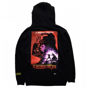 BAIT x Star Wars Men Return Of The Jedi Spanish Hoody - Glow In The Dark (black)