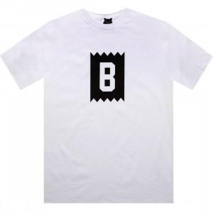 BAIT B Logo Tee (white / white)
