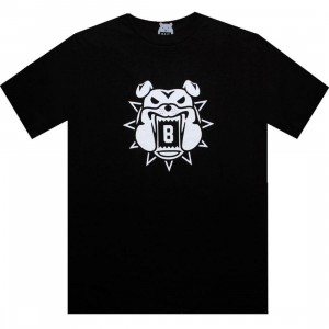 BAIT Bulldog Tee (black / white)