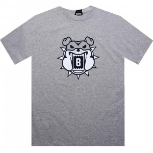 BAIT Bulldog Tee (heather grey / grey)