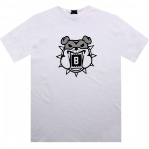 BAIT Bulldog Tee (white / grey)