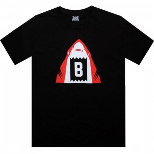 BAIT Shark Tee (black / red)
