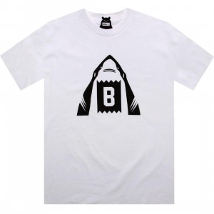 BAIT Shark Tee (white / black)