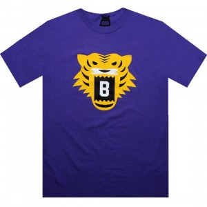 BAIT Tiger Tee (purple / yellow)