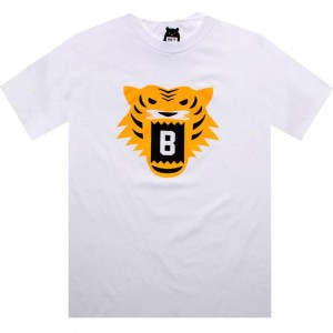 BAIT Tiger Tee (white / yellow)