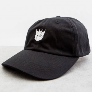 BAIT x Transformers Decepticons Dad Cap (black)