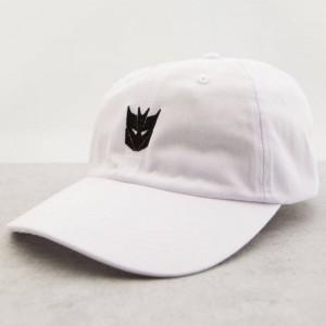 BAIT x Transformers Decepticons Dad Cap (white)