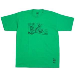 BAIT x Toy Story Men Buzz and Rex Tee (green / kelly)