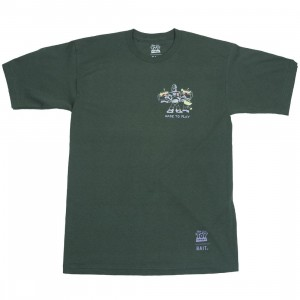 BAIT x Toy Story Men Made To Play Buzz Lightyear Tee (green / hunter)