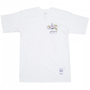 BAIT x Toy Story Men Made To Play Buzz Lightyear Tee (white)