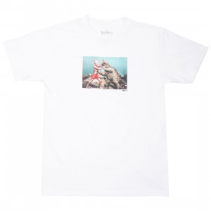 BAIT x Ultraman Men Kaiju Battle Tee (white)